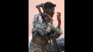 Wani soja a Somaliya
