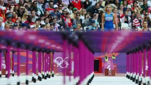 Vận động viên thi đấu điền kinh phối hợp Nataliya Dobrynska