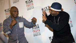 Mike Tyson y Spike Lee
