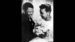 Mandela e Winnie, no dia do casamento