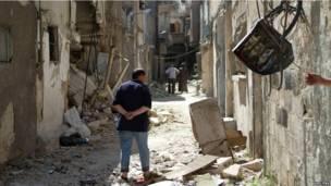 دمشق بعد القتال