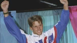Ben Ainslie a watan Yulin 1996