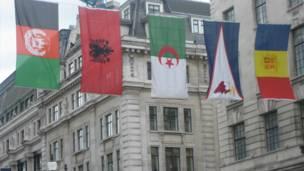 اعلام، لندن، أولمبياد