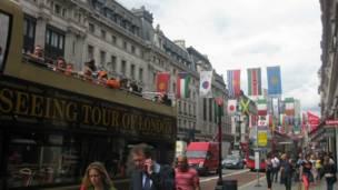 لندن، أولمبياد، سياح