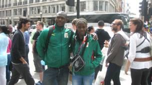 الكاميرون، لندن، اولمبياد