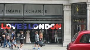 لندن، أولمبياد، متاجر