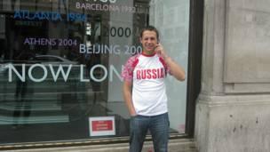 روسيا، لندن، أولمبياد