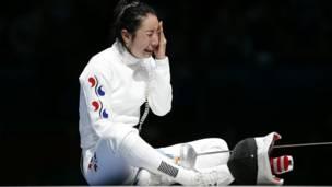 क्षिण कोरियाई तलवारबाज़ शिन लाम