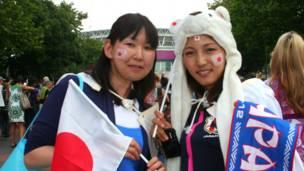 Yukiko và Yumi nói việc tuyển Nhật lần đầu tiên lọt vào chung kết bóng đá tại Olympics đã là thành công