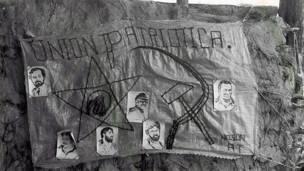 Mural en homenaje a la Unión Patriótica