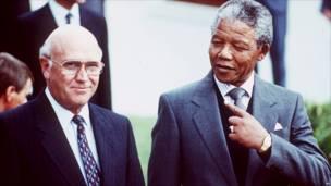 Mandela dan De Klerk