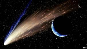 Resultado de imagen de Amenaza de grandes cometas