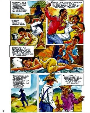 Cómics contra la esclavitud sexual en México