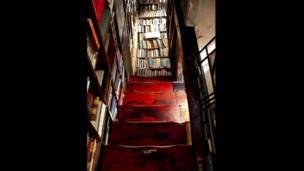 Librería Shakespeare and Company en París, año 2007