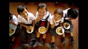 Escuela Virgen de Gaudalupe en Tarapoto, Perú, mayo de 2010.