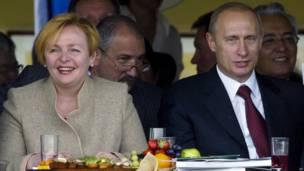 Путины в 2004 году