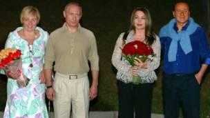 Путины в 2005 году
