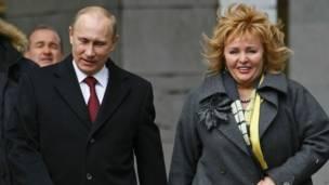Путины в 2012 году