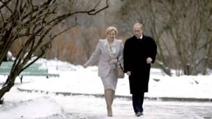 Путины в 2003 году