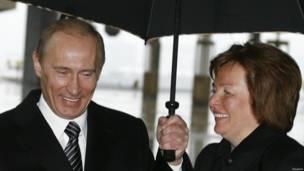 Путины в 2008 году