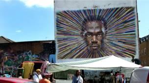 """Retrato de Usain Bolt"", de Jimmy C."