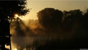 हैंपशायर की दिलकश सुबह