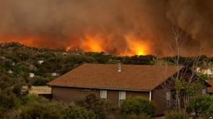 Пожар в Ярнелле