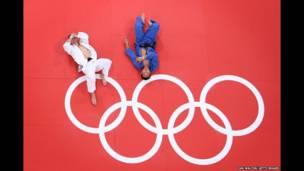 بعد مبارة أولمبية في رياضة الجودو