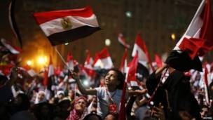 तहरिर स्क्वायर काइरोको दृश्य   रोएटर्स