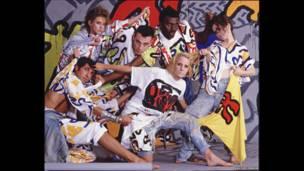 The Cloth, Summer Summit, 1985. Foto: Anita Corbin