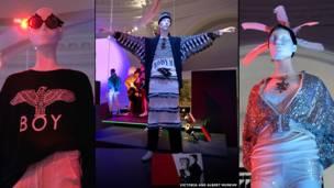 वी एंड ए के क्लब टू कैटवॉक में फैशन डिस्प्ले
