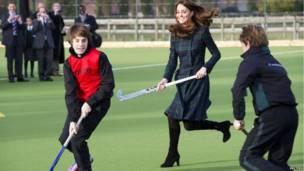 Duchess ta Cambridge na wasan hockey