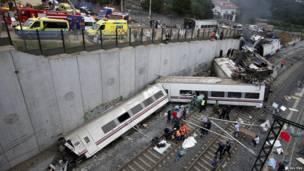 စပိန်ရထားမှောက်တဲ့ မြင်ကွင်း