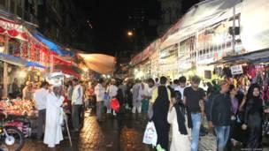 Pasar makanan Mumbai. Foto-foto oleh Vaibhav Dewan/BBC
