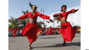 haiti flower carnival