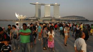 Kawasan Teluk Marina, Singapura, Reuters