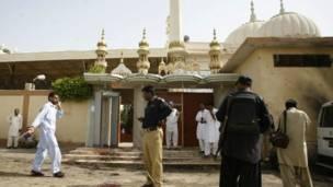 پولیس لائن کی مرکزی مسجد