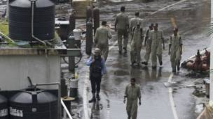 मुंबई, पनडुब्बी, धमाका, नौसेना