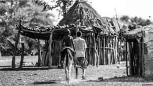 Намибийская деревня