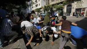 egypt rally