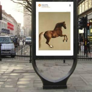 'Art Everywhere' transformou em pôsteres obras consagradas em museus britânicos e os levou para diversas cidades do Reino Unido.