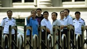 Pengadilan di Jinan, AFP