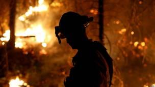 Incendio en California