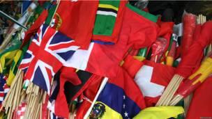 Флаги разных стран
