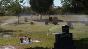 Sector pago del cementerio de Holtville