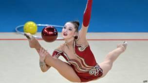 Украинка Алина Максименко