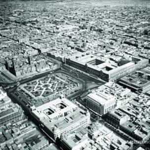 Zócalo y edificios