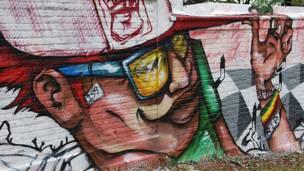 Grafite de Joks/Foto: Flavia Nogueira