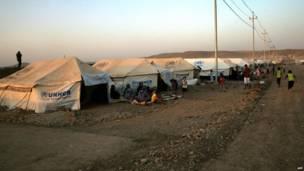 Campamento de refugiados en Quru Gusik, en el norte de Irak