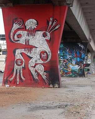 Grafites: Ciro e Boleta/Foto: Flavia Nogueira